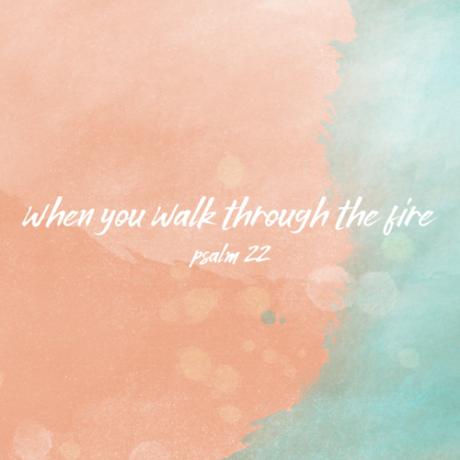 WHEN YOU WALK THROUGH THE FIRE