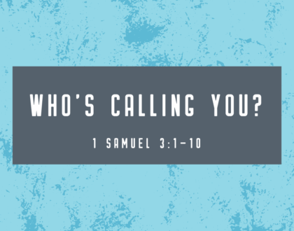 WHO'S CALLING YOU?
