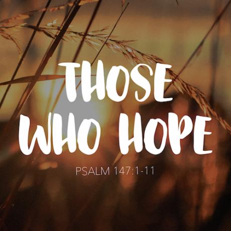 THOSE WHO HOPE