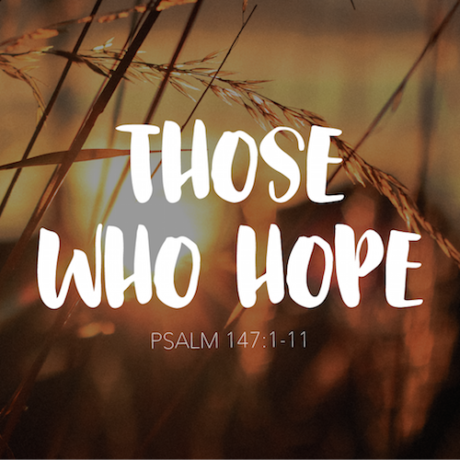 THOSE WHO HOPE